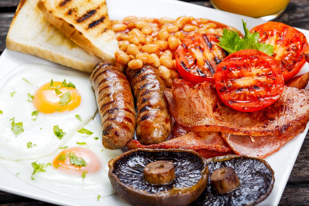 Le Petit Déjeuner Traditionnel Anglais